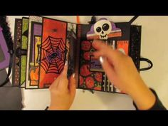 **SOLD** Wicked Scary Halloween Mini Album for KSP & SaCrafters - YouTube