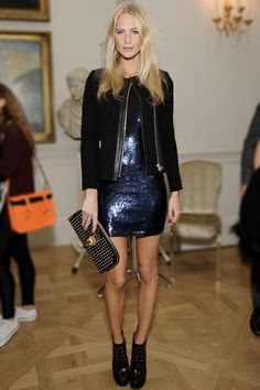 Poppy Delevingne on TheChicReporter.com #holidaystyle