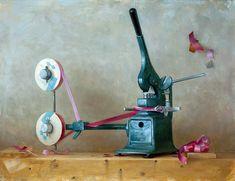 Bow Machine; Oakland artist Elizabeth Zanzinger