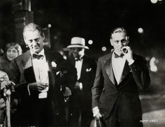 Lionel and John Barrymore at the premiere of Don Juan, 1926