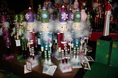 Nutcrackers galore. Callaway Gardens Christmas shop.
