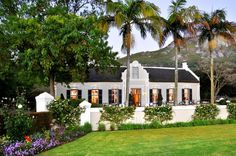An immaculately restored Dutch homestead with an award-winning restaurant, Grande Roche Hotel is set in immaculately manicured gardens in the famous Paarl wine region. Holland, South African Homes, Cape Dutch, Dutch House, Namibia, Dutch Colonial, Modern Colonial, Cape Town South Africa, Adventure Is Out There
