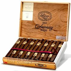 Padron 1964 Anniversary Maduro cigars have been a favorite among the Famous staff and cigar enthusiasts world wide since their introduction. Find out for yourself why so many smokers consider them the best.