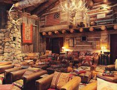 ralph-lauren-teepee-ranch-colorado-  Media Room