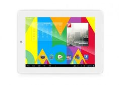 Ployer Momo18 Tablet PC use 8 inch screen, with A31 Quad Core CPU, has 2GB RAM, 16GB ROM, 0.3MP front and 2MP back dual camera, and installed Android 4.1 OS.