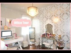 Makeup Room Office Tour - My Filming Room Tour 2015 - MissLizHeart - YouTube