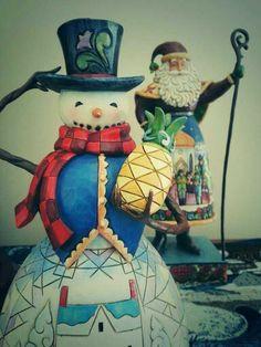 #santa #holiday #snowman