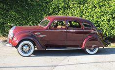 1936 DeSoto Airflow Sedan Vintage Auto, Vintage Cars, Antique Cars, Dodge, Chrysler Airflow, American Auto, Auto Accessories, Collector Cars, Old Cars