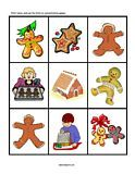 gingerbread man printables  repinned by @PediaStaff – Please visit http://ht.ly/63sNt for all (hundreds of) our pediatric therapy pins