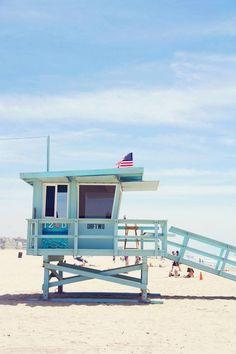Blue hue in Venice Beach. Photograph by Ryan Foy