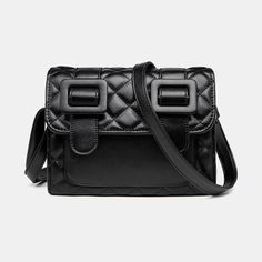 Women Casual Solid Quilted Phone Bag Crossbody Bag As low as $64.00 Trendy Handbags, Fashion Handbags, Fashion Bags, Women's Fashion, Cute Bags, Bag Organization, Evening Bags, Leather Handbags, Designer