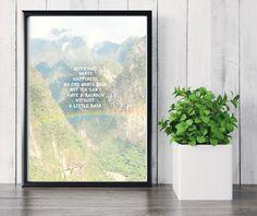 """Wanddeko - """"Rainbow"""" Kunstdruck / Fotografie / Poster - ein Designerstück von…"""