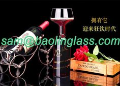 750ml Guzzle buddy ultimate wine glass bottle