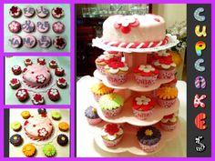 Tortas gelatinas cupcakes fiestas infantiles
