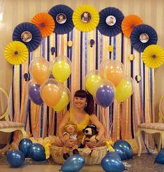 """Baiciurina Olga's Design Room: Детский День Рождения """"Путешествие маленького льва""""-Birthday Party """"the journey of a little lion"""""""
