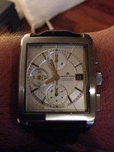 Maurice Lacroix everywhere #wristshots #advertures #watches #swissmade