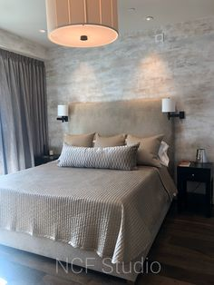 These walls were finished with multi layers of hand troweled plasters Layers, It Is Finished, Walls, Studio, Bed, Furniture, Home Decor, Layering, Homemade Home Decor