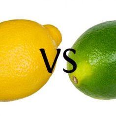 Ken je het verschil tussen citroen en limoen?