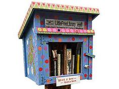 Little Free Library | Take a Book • Return a Book