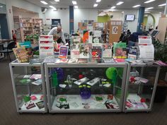 Marrickville Library - Drug Action Week display