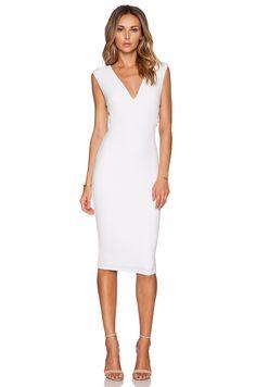 Nookie Turlington Bodycon Dress in White
