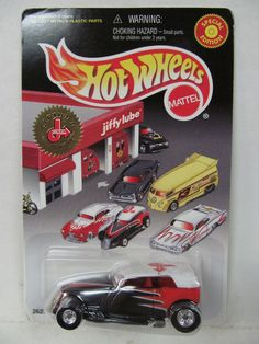 1990s Vintage Hot Wheels Jiffy Lube Tail Dragger