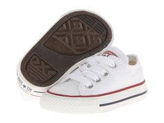 Converse Kids Chuck Taylor(r) All Star(r) Core Ox (Infant/Toddler) Kids Shoes Optical White