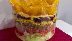 Sałatka Big Mac - Blog z apetytem Shredded Beef Burritos, Appetizer Recipes, Appetizers, Big Mac, Guacamole, Oatmeal, Food And Drink, Pudding, Dinner
