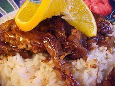 la table en fête : Sauté de boeuf à l'orange Jus D'orange, Grains, Rice, Beef, Table, Food, Meat, Filet Mignon, World Cuisine