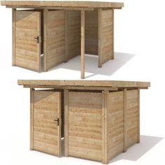 Geraeteschuppen-Geraetehaus-Geraeteschrank-Holz-Gartenhaus-240x240cm-Schuppen-1