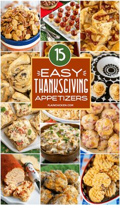 15 Easy Thanksgiving Appetizers - something for everyone at your holiday table. 15 Easy Thanksgiving Appetizers – something for everyone at your holiday table. Thanksgiving Snacks, Best Thanksgiving Recipes, Thanksgiving Side Dishes, Thanksgiving Appitizers, Easy Holiday Recipes, Thanksgiving Turkey, Yummy Appetizers, Appetizer Recipes, Easy Holiday Appetizers