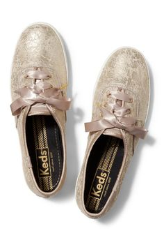 Champion Metallic Leather Sneaker Ughhh so cute!!!! I would wear these every day of my life!
