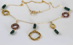 FREE SHIPPINGBirthstone necklace emerald necklace by julwelry, $59.00