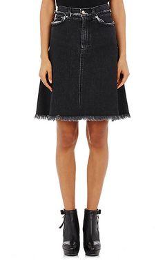 Acne Studios Denim Gisella Midi-Skirt - Mini - Barneys.com