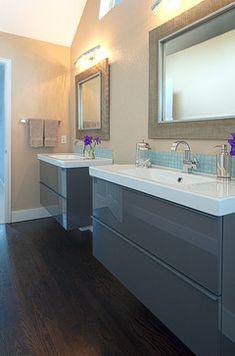 Christopher Court Master Bath - contemporary - bathroom - denver - Oliver Designs
