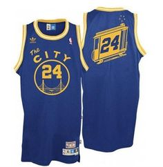 "00f1dbc66 Men's Golden State (San Francisco) Warriors Rick Barry 1966-1967 ""The City""  Adidas Hardwood Classics Swingman Jersey"