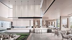 CIFI RENCENT GROUP LINYI SALES CENTER/旭辉银盛泰临沂公元锦里 on Behance Lobby Bar, Interior Architecture, Interior Design, Sales Center, Sales Office, Clinic Design, Model Homes, Kitchen Cabinets, Lounge