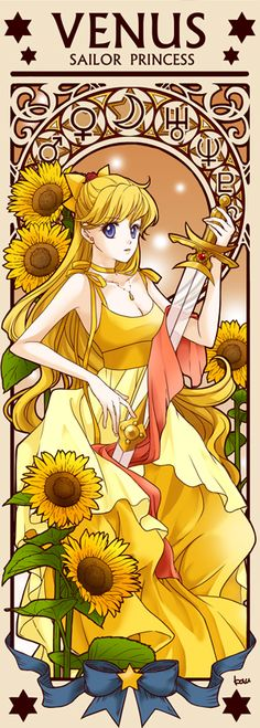 Princess Sailor Venus by Tsuki-kioku. Sailor Moon