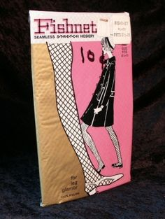 Fishnet stockings in the 1960's, oh yes, we were that cool. by karyn