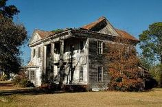 Sycamore GA Turner County Abandoned Dilapidated Folk Victorian House Architecture Picture Image Photo Brian Brown Vanishing South Georgia USA 2012 by roxie