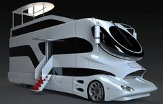 The Marchi eleMMent (pictured above) certainly looks like a crazy futuristic concept bus/RV, but it is real. The crazy design is based on on of the Luigi Colani truck concepts. Colani Truck, Colani Design, Hot Cars, Exotic Cars, Cars And Motorcycles, Dream Cars, Trucks, Mobile Homes, Palazzo