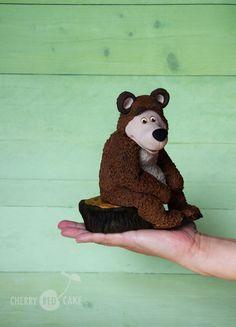 The Bear cake topper