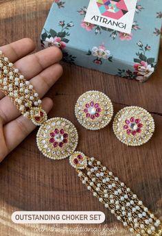 Fancy Jewellery, Jewelry, Chokers, Traditional, Earrings, Fashion, Ear Rings, Moda, Jewlery