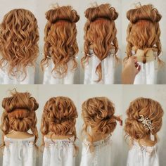 18 Fantastic Bridal Hairstyle Tutorials for Long Hair Page 3 of 3 ChicHairstylestrendy