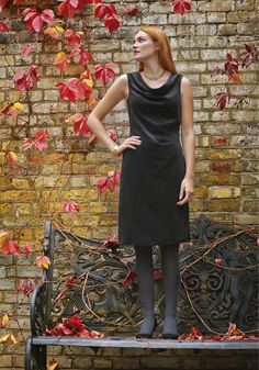 People Tree Lucie dress, een beautiful dress to wear to work or to a evening uit!
