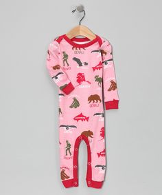 Pink Alaska playsuit from Wild & Cozy.