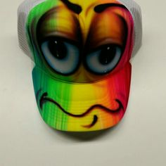 Hip hop colorful airbrush hat