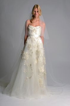 Marchesa 2014 Collection, Fall - Gent & Beauty Designer Wedding Dresses 2014