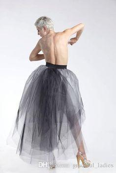 Black and White Adult Party Dress Tutu Skirt Asymmetrical Hi-Lo Midi Skirt Overskirt For Bridesmaid Dresses Custom Design Tutu Skirt Short