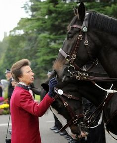 HRH Anne, Princess Royal attend the 10th anniversary of the Scottish Police Memorial to lay wreaths and commemorate those officers who have died in the line of duty. Sept., 2014